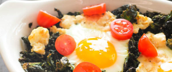 eggs and ricotta